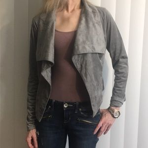 NWT Romeo+Juliet Couture faux suede blazer size SM